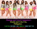 Cebu 's Finest Ladies with Fabulous Looks, a High Degree of  Intelligence and a Warm Personality.   We guarantee complete Discretion and unforgettable  time with our Ladies.