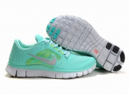 nike free 3 blue shoes