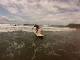 SURF LESSON - CLASE DE SURF (High Tide Surf School Facebook)