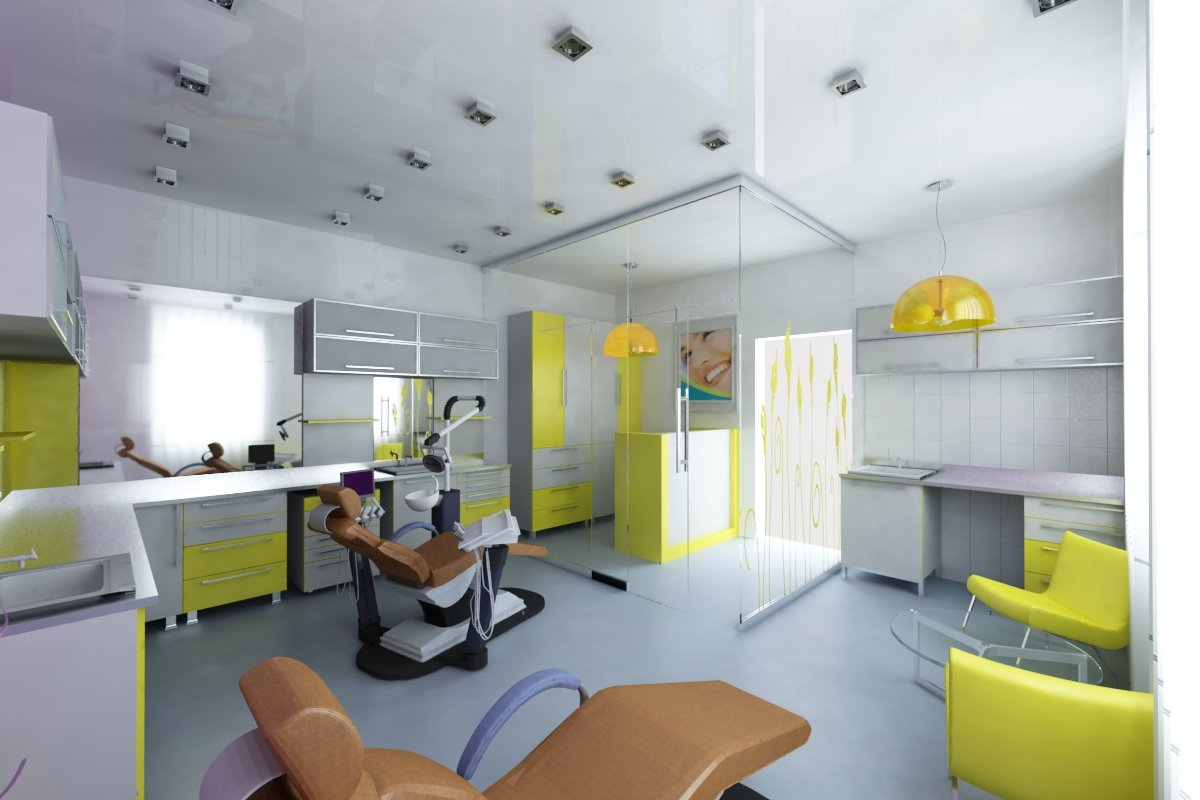 Dental clinic archkinect for Dental clinic interior designs