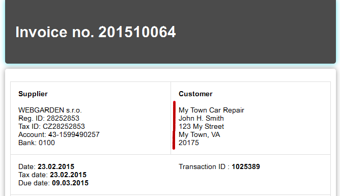 6 Invoice no. 201510064 with purchaser and marks.png