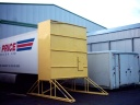 Environment  - Acoustic hood for artic chilled trailers