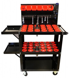 Floor Model CNC Tool cart with Peg board.jpg.JPG